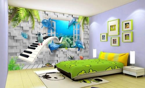 Tranh dán tường, tranh 3d, tranh dán tường 3d, tranh 3d dán tường