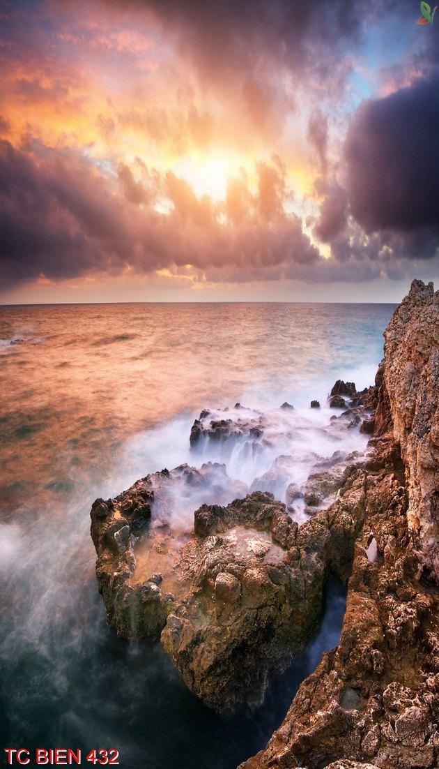 Tranh cảnh biển 432