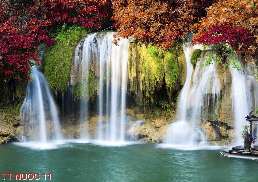 Tranh thác nước 11