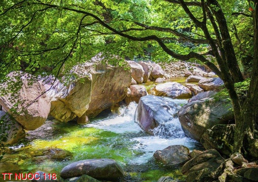 Tranh thác nước 118