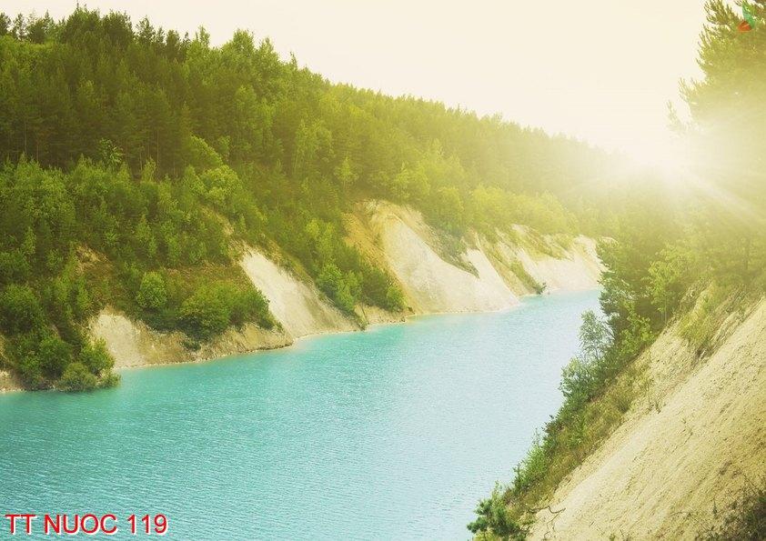 Tranh thác nước 119