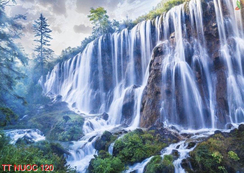 Tranh thác nước 120