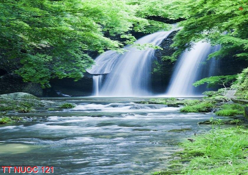 Tranh thác nước 121