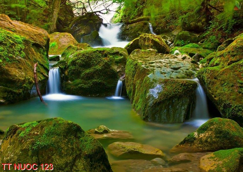 Tranh thác nước 123
