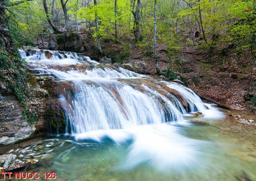 Tranh thác nước 126