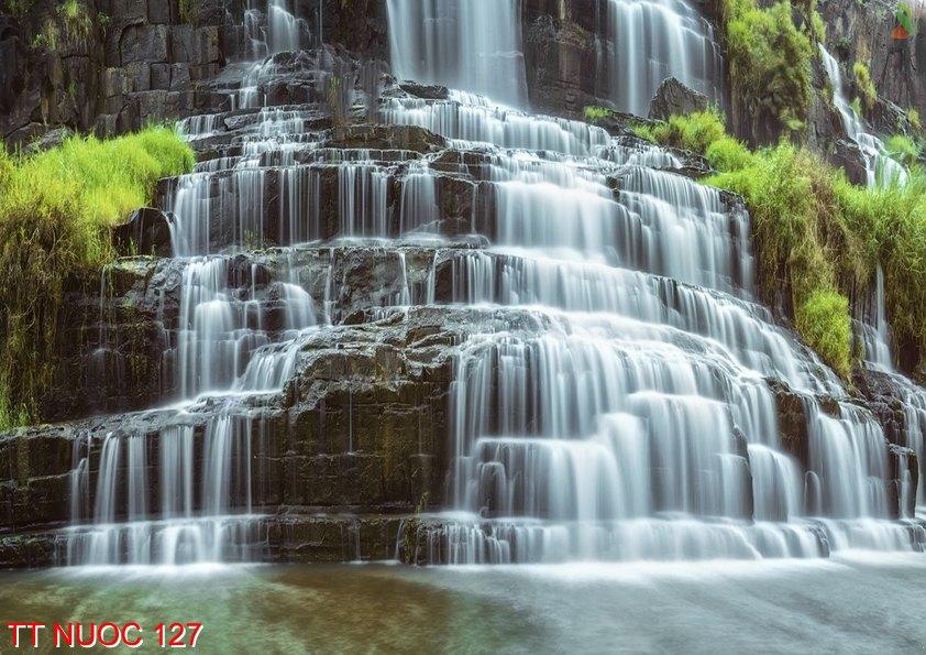 Tranh thác nước 127