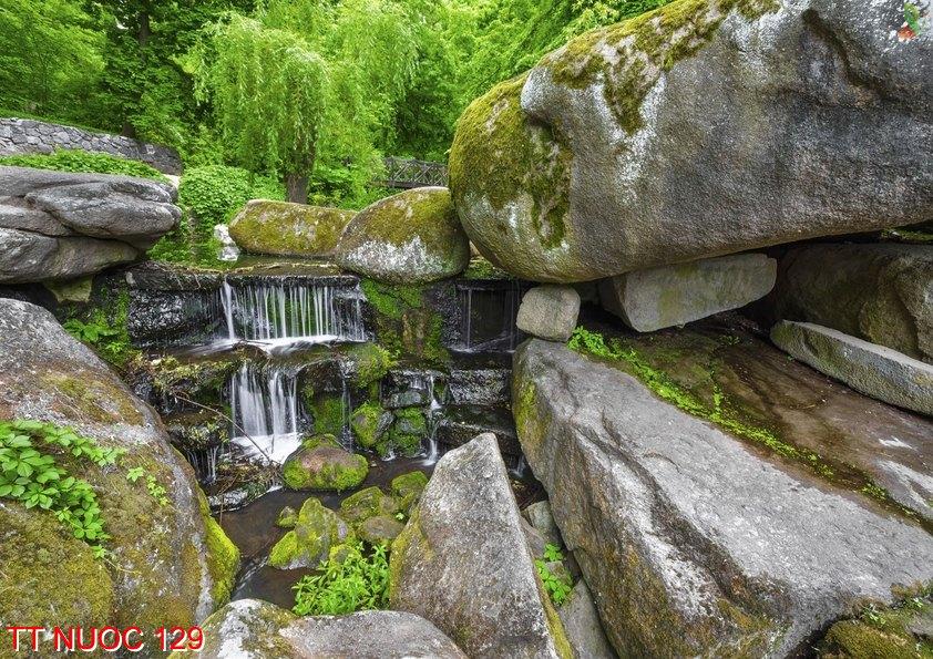 Tranh thác nước 129