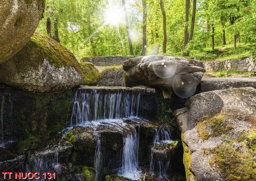 Tranh thác nước 131