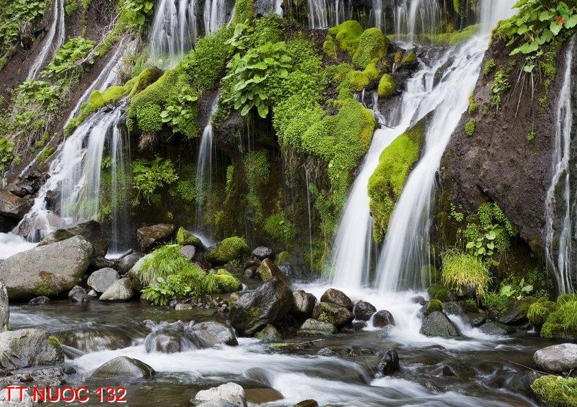 Tranh thác nước 132