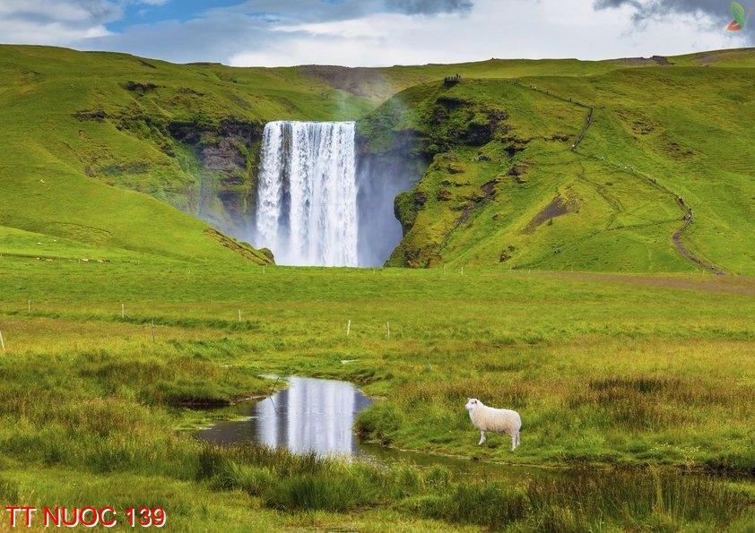 Tranh thác nước 139