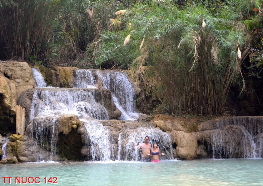 Tranh thác nước 142