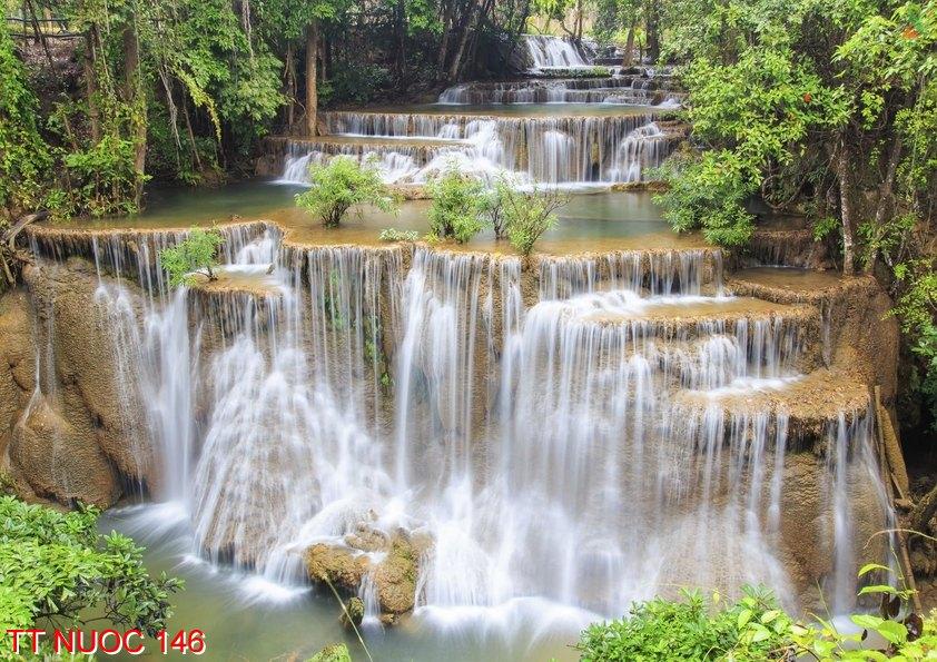 Tranh thác nước 146