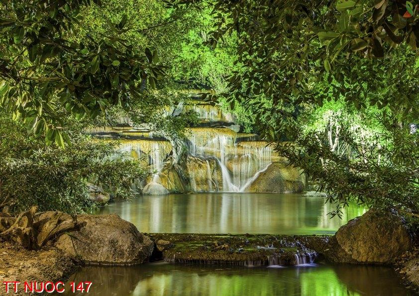 Tranh thác nước 147