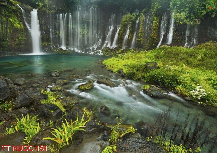 Tranh thác nước 151