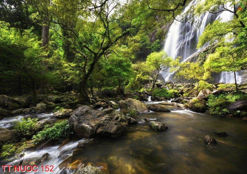 Tranh thác nước 152