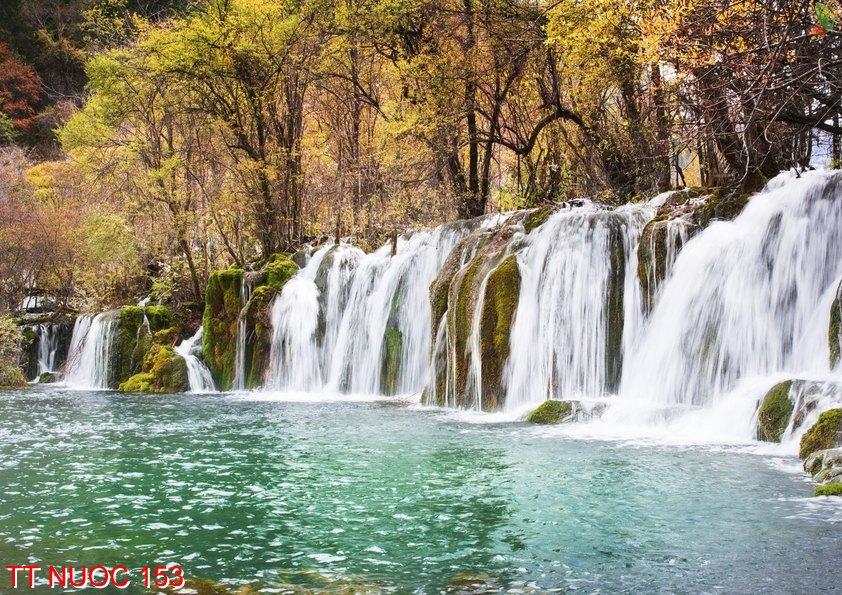 Tranh thác nước 153