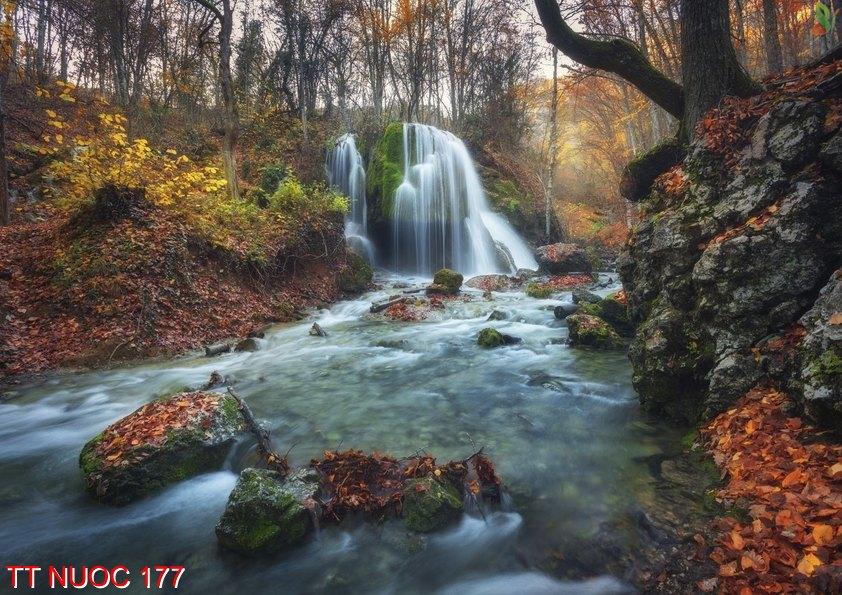 Tranh thác nước 177