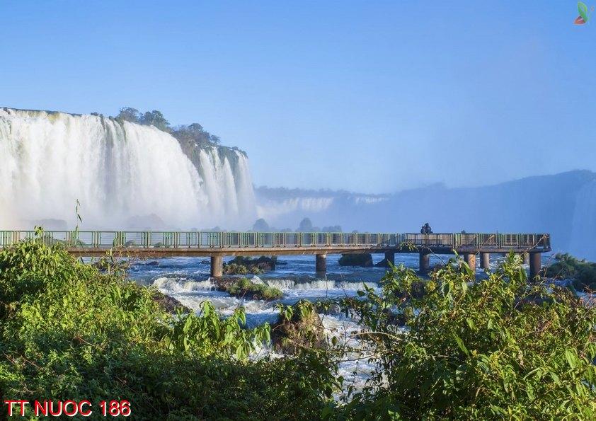 Tranh thác nước 186