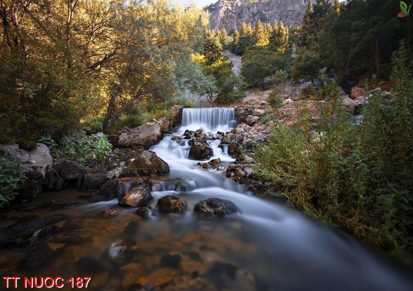 Tranh thác nước 187