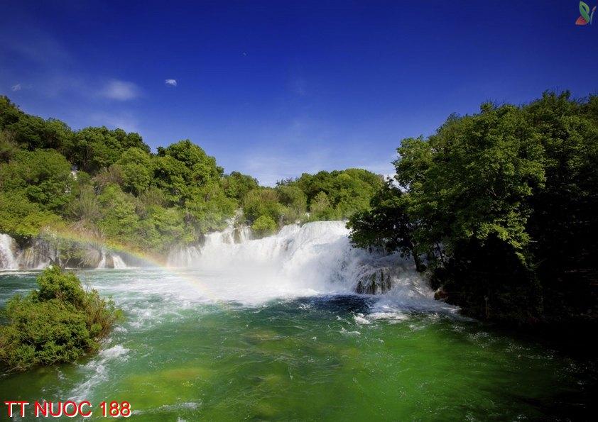 Tranh thác nước 188