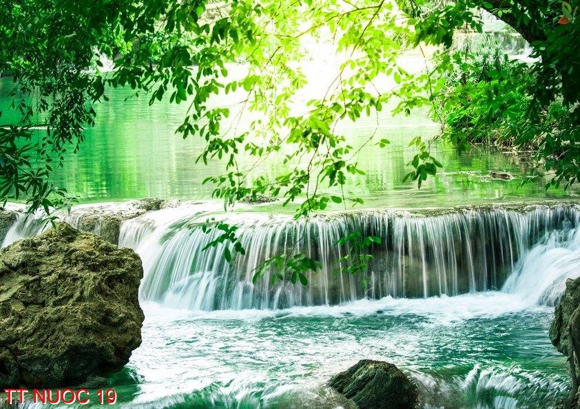 Tranh thác nước 19