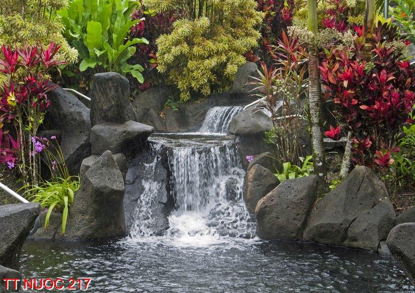 Tranh thác nước 217