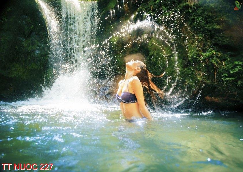 Tranh thác nước 227