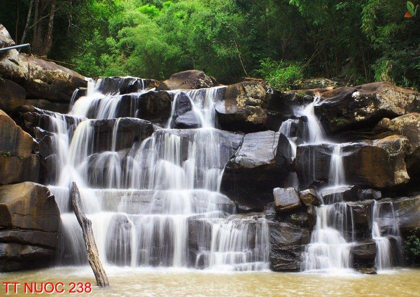 Tranh thác nước 238