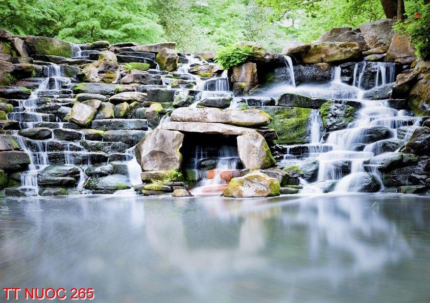 Tranh thác nước 265