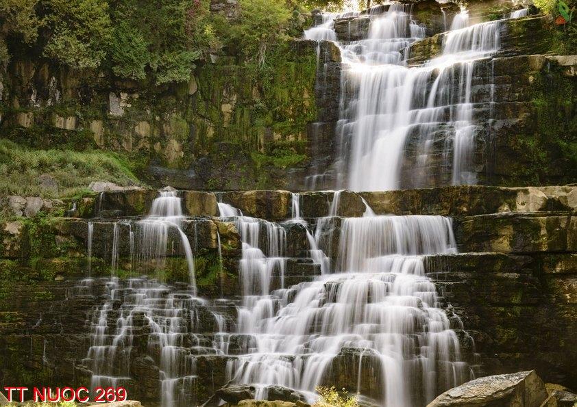 Tranh thác nước 269