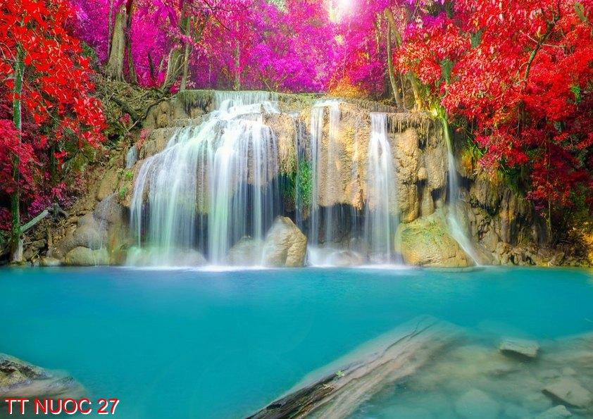 Tranh thác nước 27