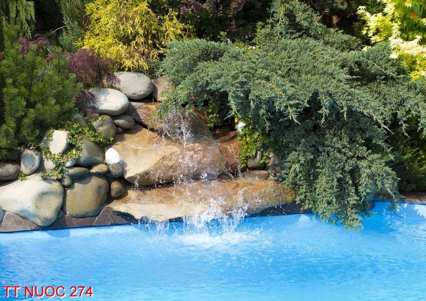 Tranh thác nước 274