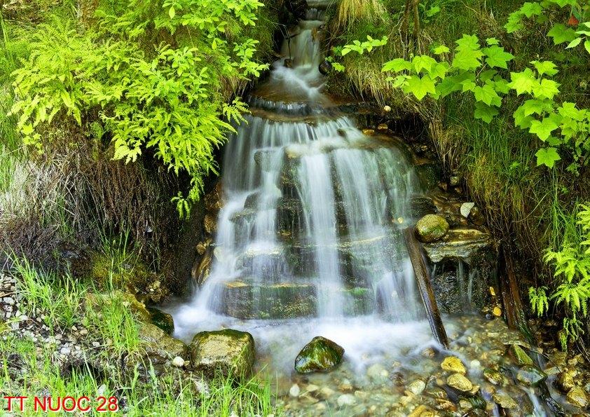 Tranh thác nước 28