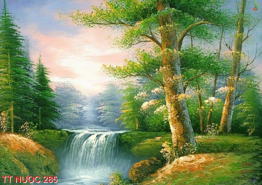 Tranh thác nước 285