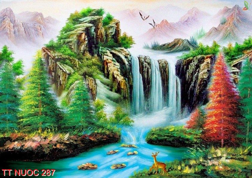Tranh thác nước 287