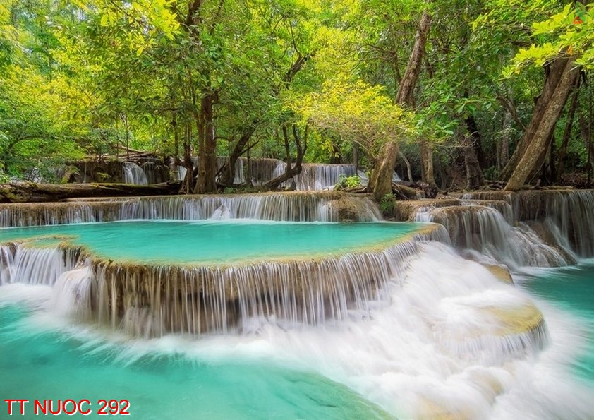Tranh thác nước 292
