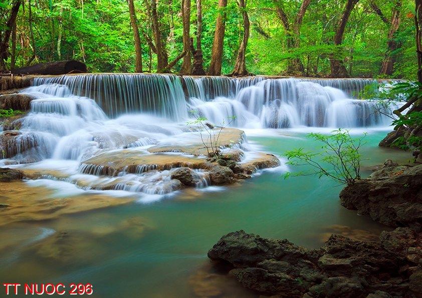Tranh thác nước 296