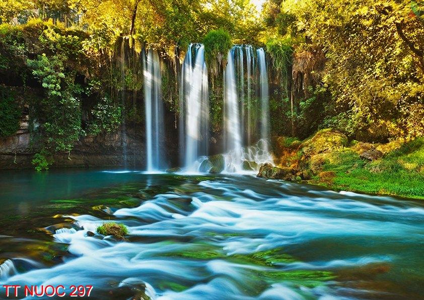 Tranh thác nước 297