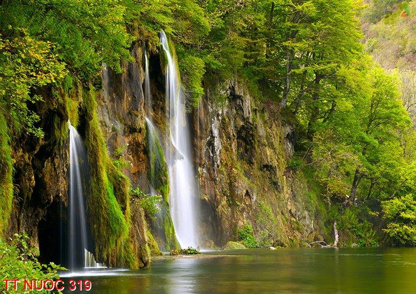 Tranh thác nước 319