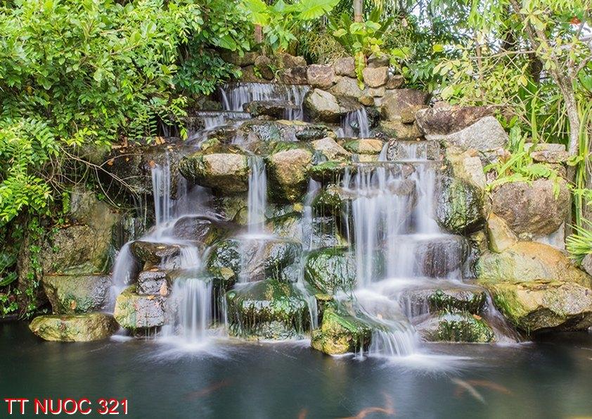 Tranh thác nước 321