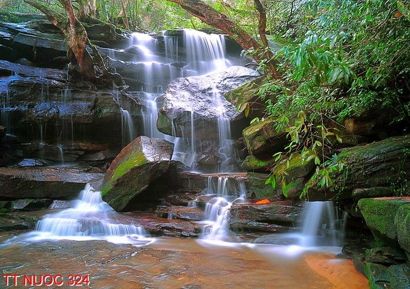 Tranh thác nước 324