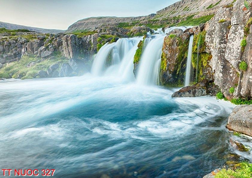 Tranh thác nước 327