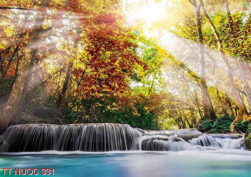 Tranh thác nước 331