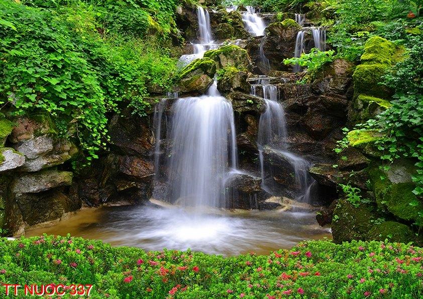 Tranh thác nước 337