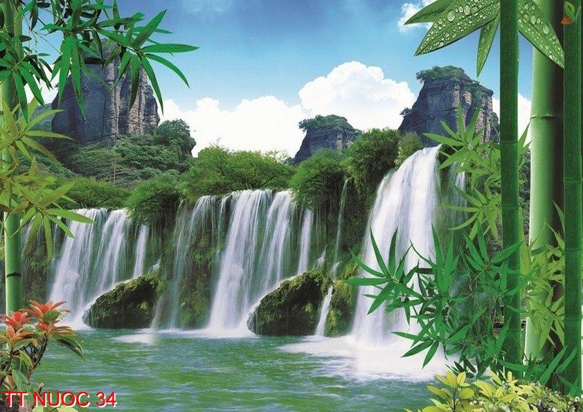Tranh thác nước 34