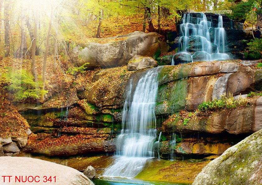 Tranh thác nước 341