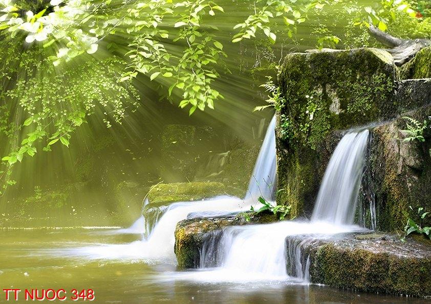 Tranh thác nước 348