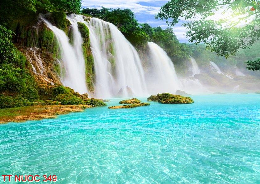 Tranh thác nước 349