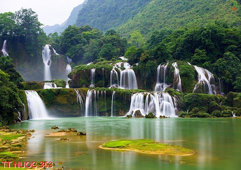 Tranh thác nước 353