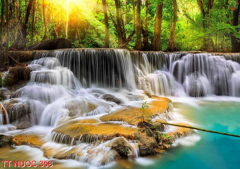 Tranh thác nước 358